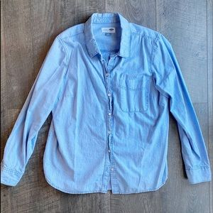 Old Navy Button Down Chambray